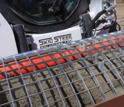 Аренда бетоносмесителя на базе мини-погрузчика